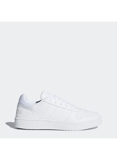 adidas Hoops 2.0 Erkek Günlük Ayakkabı Db1085 Beyaz